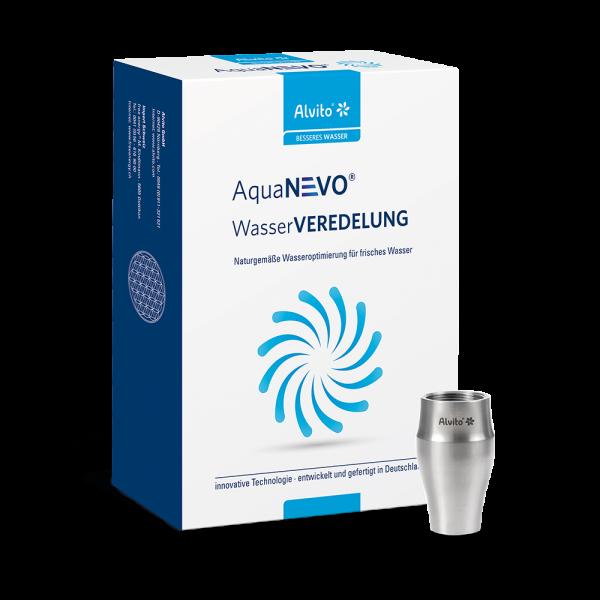 Alvito AquaNEVO Design-Wasserwirbler Titan Duo aus edlem Titan im wasserfilter-handel.de