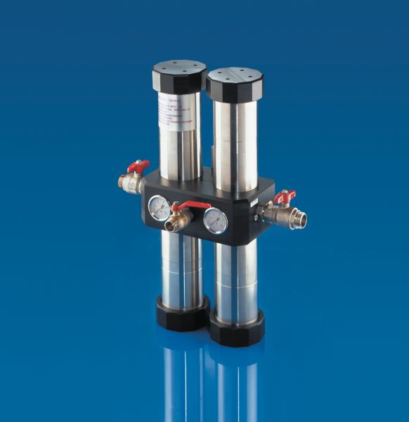 Carbonit Quadro 120/R Hauswasserfilter - Filteranlage für Hausanschluss
