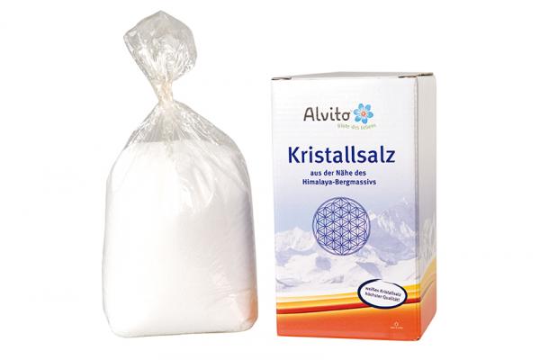 Alvito Kristallsalz fein gemahlen 900g