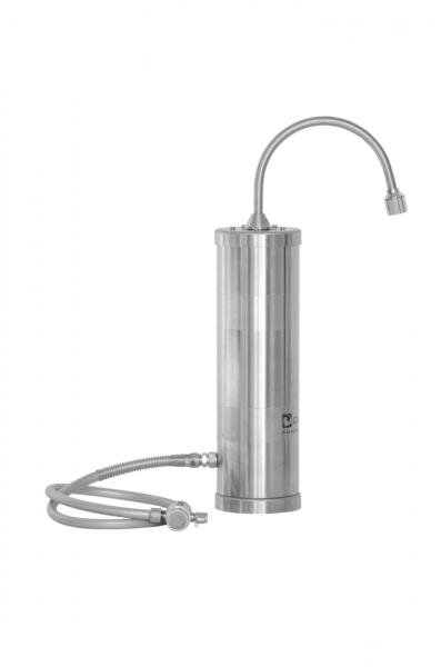 Carbonit SanUno INOX Auftisch Wasserfilter kaufen im Wasserfilter-Handel