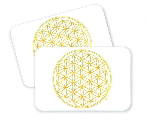 Alvito Energie-Tischset mit Lebensblume (1 Stück)
