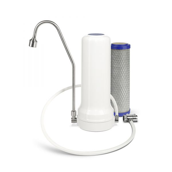 Alvito Auftisch-Wasserfilter für Wasserhahn inkl. Filtereinsatz Primus SD vom Wasserfilter-Handel