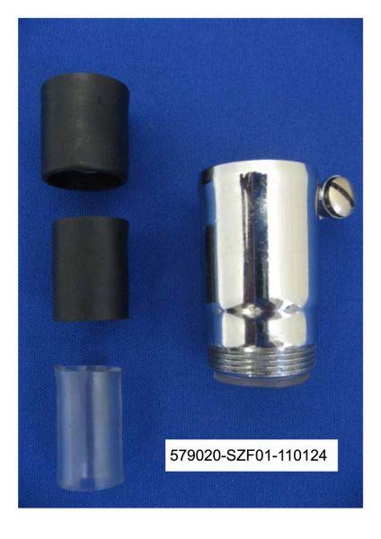 Universaladapter auf M22AG zur Montage an gewindelosen Auslaufrohre im wasserfilter-handel.de