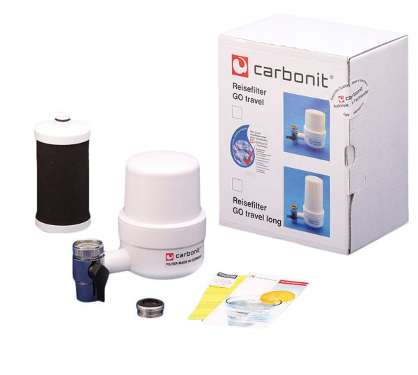 Carbonit Reisefilter GO Travel mit Filterpatrone RFP Premium vom wasserfilter-handel.de
