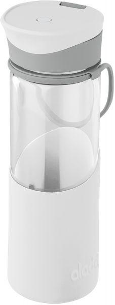 Aladdin Glas-Trinkflasche Migo 0,55 L weiss hier Kaufen vom Wasserfilter-Handel