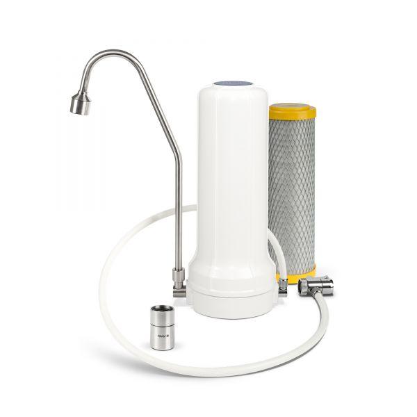 Wasserfilter Vital-EM für Wasserhahn inkl. Wirbler & Filter Primus EM mit EM-Keramik vom Wasserfilter-Handel