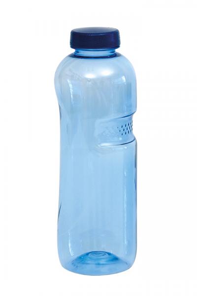 Alvito Basic-Trinkflasche 1,0 Liter inkl. Deckel mit Aufdruck der Lebensblume im wasserfilter-handel