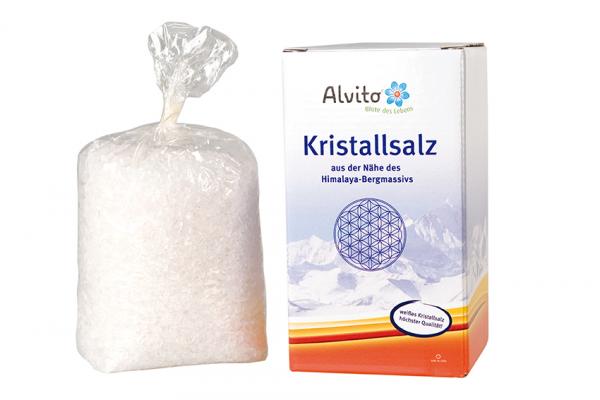 Alvito Kristallsalz grob gemahlen 900g