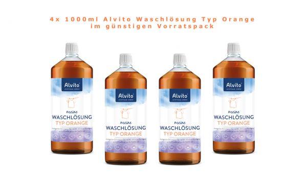 Alvito Waschlösung Typ Orange ökologisches Waschmittel zum Waschen hier günstig kaufen