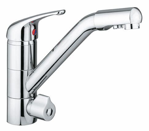 Alvito 3-Wege-Küchen-Armatur Siena vom Wasserfilter-Fachhandel