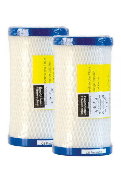 Carbonit CB6 Premium Filtereinsatz (2 Stück)