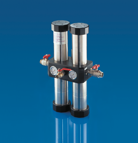 Carbonit Quadro 60/L Hauswasserfilter für Hausanschluss