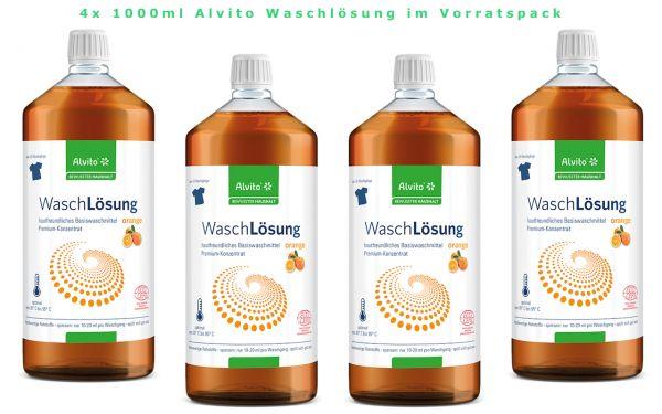 Alvito Waschlösung Typ Orange ökologisches Waschmittel zum Waschen hier  kaufen