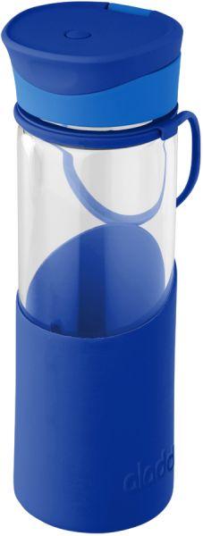 Aladdin Glas-Trinkflasche Migo 0,55 L blau hier Kaufen im Wasserfilter Handel